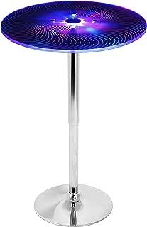 LumiSource Spyra LED Light-Up Bar Table