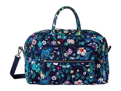 Vera Bradley Iconic Compact Weekender Travel Bag (Moonlight Garden) Weekender/Overnight Luggage