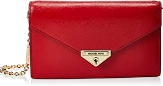 MICHAEL KORS Womens Medium Envelope Clutch Bag, Bright Red - 30H9GGHC2A