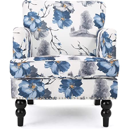 Christopher Knight Home Boaz Fabric Club Chair - Floral Print