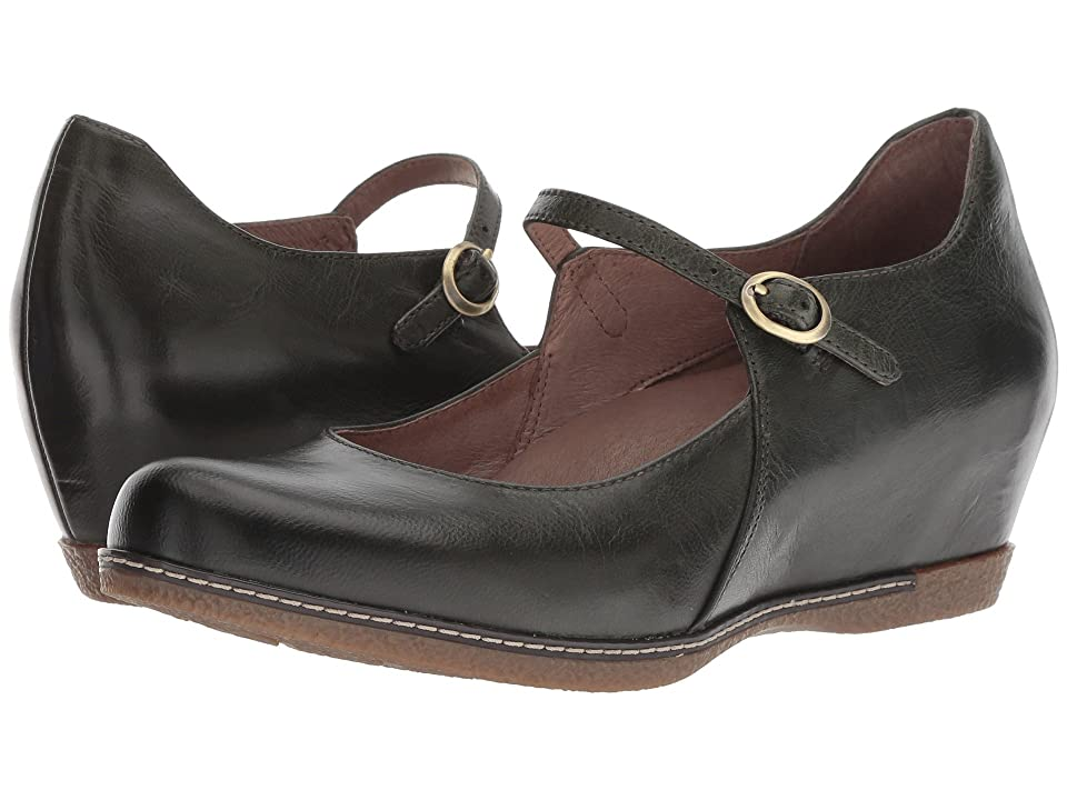 Dansko Loralie (Moss Burnished Calf) Women