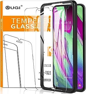 comprar comparacion KuGi. para Samsung Galaxy A40 Protector de Pantalla, Cristal Templado 9H Dureza Alta Definicion Protector de Pantalla ...