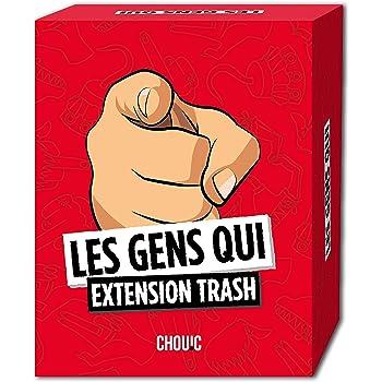 Les Gens Qui - Extension Trash - Jeux Société Pour Adulte - Jeu Humour Noir - 330 Nouvelles Cartes