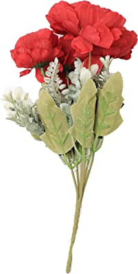 Itsy Bitsy Artificial Flower (Cherry Red, 1 Piece)