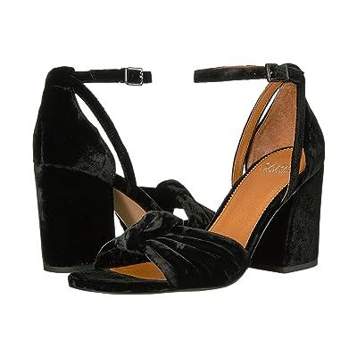 Franco Sarto Edana (Black Smart Velvet/Fabric) Women