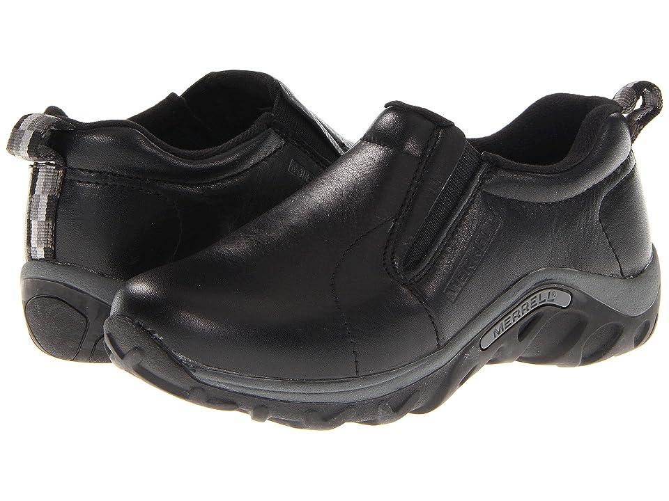Merrell Kids Jungle Moc Leather (Toddler/Little Kid/Big Kid) (Black) Boys Shoes
