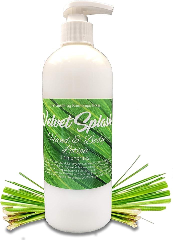 Velvet Splash Hand & Body Lotion Lemongrass 16oz.