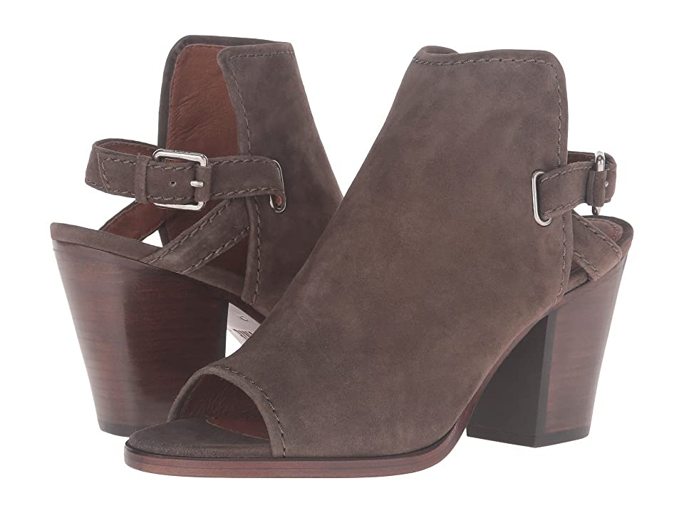 Frye Dani Shield Sling (Dark Taupe Suede) Women