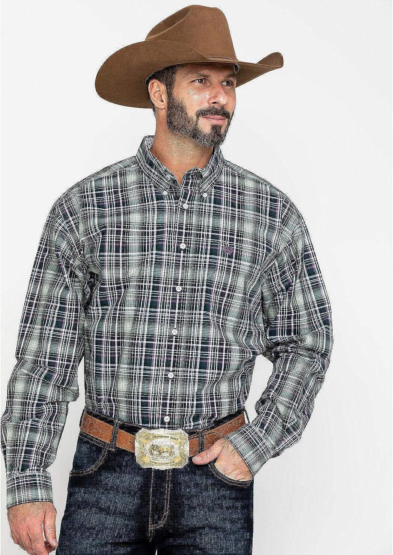 Cinch Men's Multi Plaid Classic Western Shirt