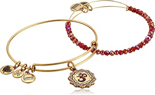 Alex and Ani Womens Color Infusion Om Set of 2