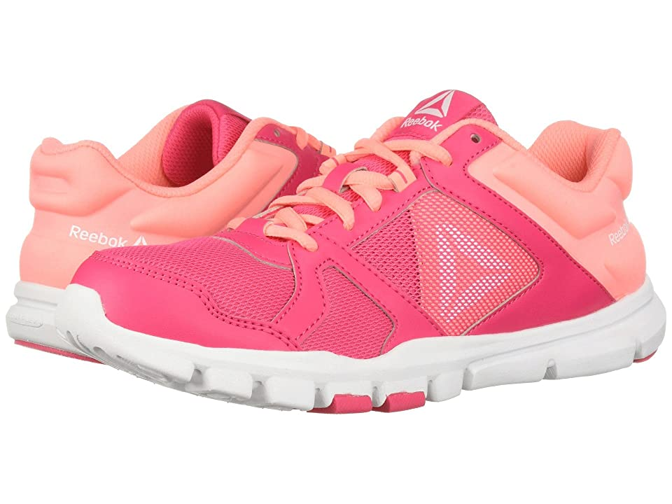 Reebok Kids Yourflex Train 10 (Little Kid/Big Kid) (Pink/Light Pink) Girls Shoes