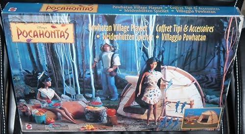 Mattel Pocahontas 67239 - Weißenhütten Spielset