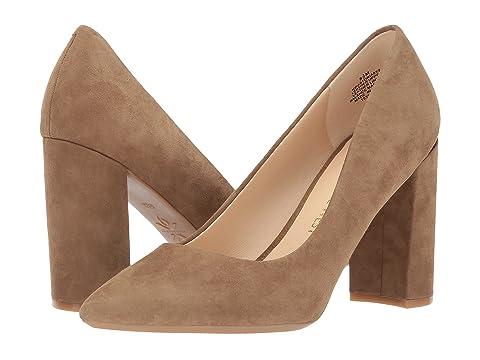 nine west astoria block heel pump