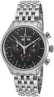 Maurice Lacroix - Les Classiques de la lc1228-ss002 – 331 Hombres Cronógrafo SS BLACK DIAL SS reloj