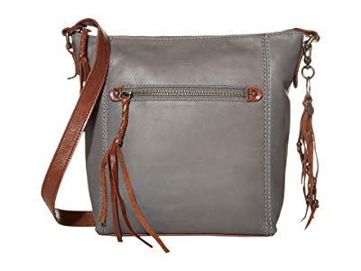 The Sak Ashland Crossbody (Denim) Cross Body Handbags