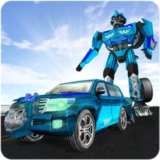 Cruiser Transformer Robot Fighting City Hero