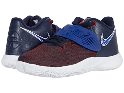 Nike Kids Kyrie Flytrap III (Little Kid) (Obsidian/Deep Royal Blue/Gym Red/White) Kids Shoes