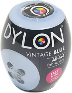 Dylon Machine Dye Pod Box of 3 Vintage Blue, 25 x 10 x 4 cm