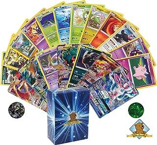 Pokemon Prime Collection - 100 Cards - 1 Pokemon GX Card - Pokemon Rares - Pokemon Coin! Includes Golden Groundhog Box!