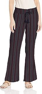 Roxy Women's Oceanside Yarn Dye Pant