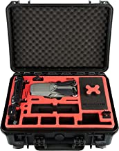 MC-CASES Carrying Case for DJI Mavic 2 Pro or Zoom and DJI Smart Controller - Explorer Edition - Space for up to 9 Batteries