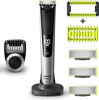 PHILIPS Norelco OneBlade Pro Kit, Hybrid Electric Trimmer...