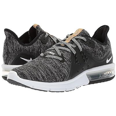 Nike Air Max Sequent 3 (Black/White/Dark Grey) Women