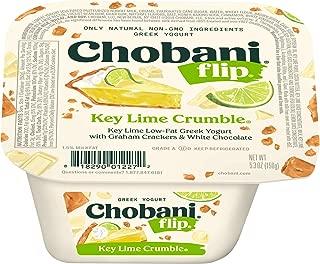 Chobani Flip 5.3 ounce (Pack of 12) (Key Lime Crumble)