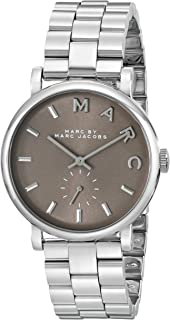 Marc by Marc Jacobs Baker Women's Brown Dial Stainless Steel Band Watch - MBM3329