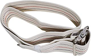Transfer Gait Belt with Metal Buckle 1 Loop Handle Beige 60 inches. Available 1 Loop Handle: Beige 72