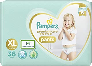 Pampers Premium Care Pants Diapers, X-Large, 36 Count