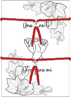 comprar comparacion HAND-PRO Pulsera roja Mal de Ojo Pulsera Mal de Ojo roja Pulsera Hilo Trenzado Pulsera de la Suerte y protección Amuleto p...