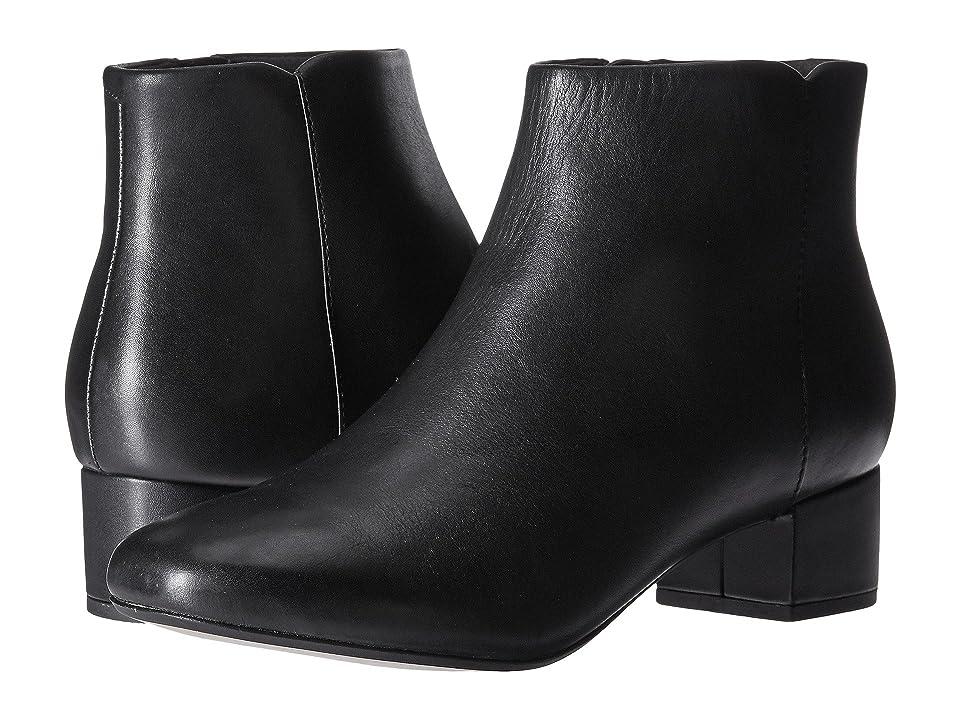 Clarks Chartli Lilac (Black Leather) Women