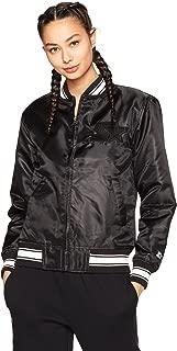 womens satin varsity jacket