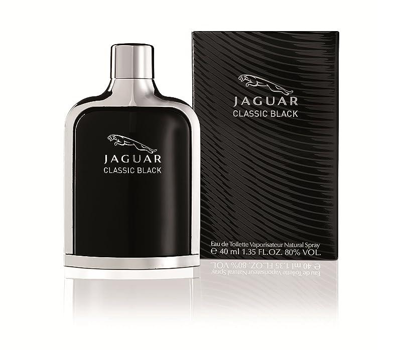最愛の他に分泌するジャガー クラシック ブラック EDT SP 40ml