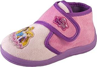 317060666beaf Disney Filles Enfants Princesse Cendrillon Belle Blanc neige Chaussons  Chaussures Taille UK 7–11.5