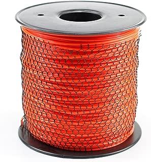 Parts Camp Trimmer Line .095 5Lb Orange Round 1430' Length Commercial Spool of line