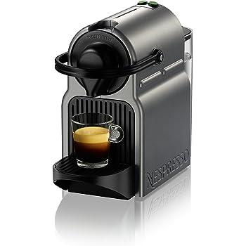 Breville Nespresso Inissia Espresso Machine Titan, 13.8 x 7.8 x 13.2 inches (BEC120TTN1AUC1)