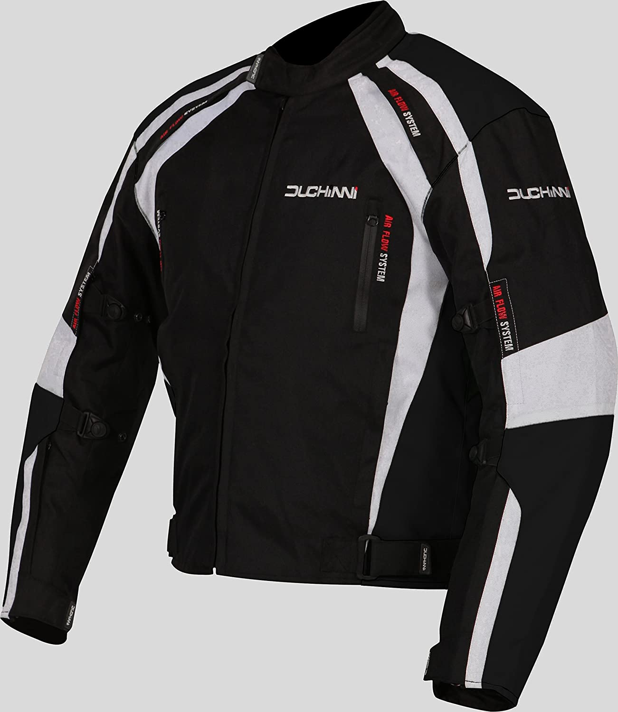 Blue, XXX-Large DUCHINNI Misano All Season Motorcycle Jacket