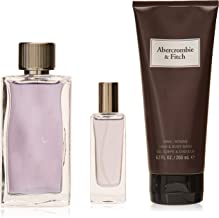 Abercrombie & Fitch First Instinct By Abercrombie & Fitch for Men - 3 Pc Gift Set 3.4oz Edt Spray, 0.5 Oz Edt Spray, 6.7oz Hair & Body Wash, 3count