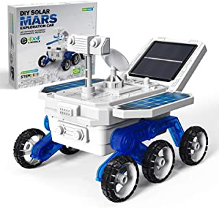 Selieve STEM Toys Projects for Kids Ages 8-12, DIY Solar Mars Rover Car Toys, Kid Science Experiment Models Kits, STEM Bui...