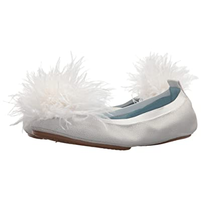 Yosi Samra Marry Me Marabou (White Leather/Pom) Women