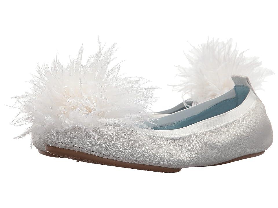 Yosi Samra Marry Me Marabou (White Leather/Pom) Women