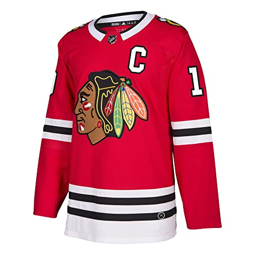 92a34e2bfd7 adidas Jonathan Toews Chicago Blackhawks NHL Men's Authentic Red Hockey  Jersey
