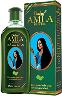 Dabur Amla Oil; Best Root nourishment for strong and beautiful hair ; Enriched with Amla ; Natural oils, Vitmain C; 100 ml