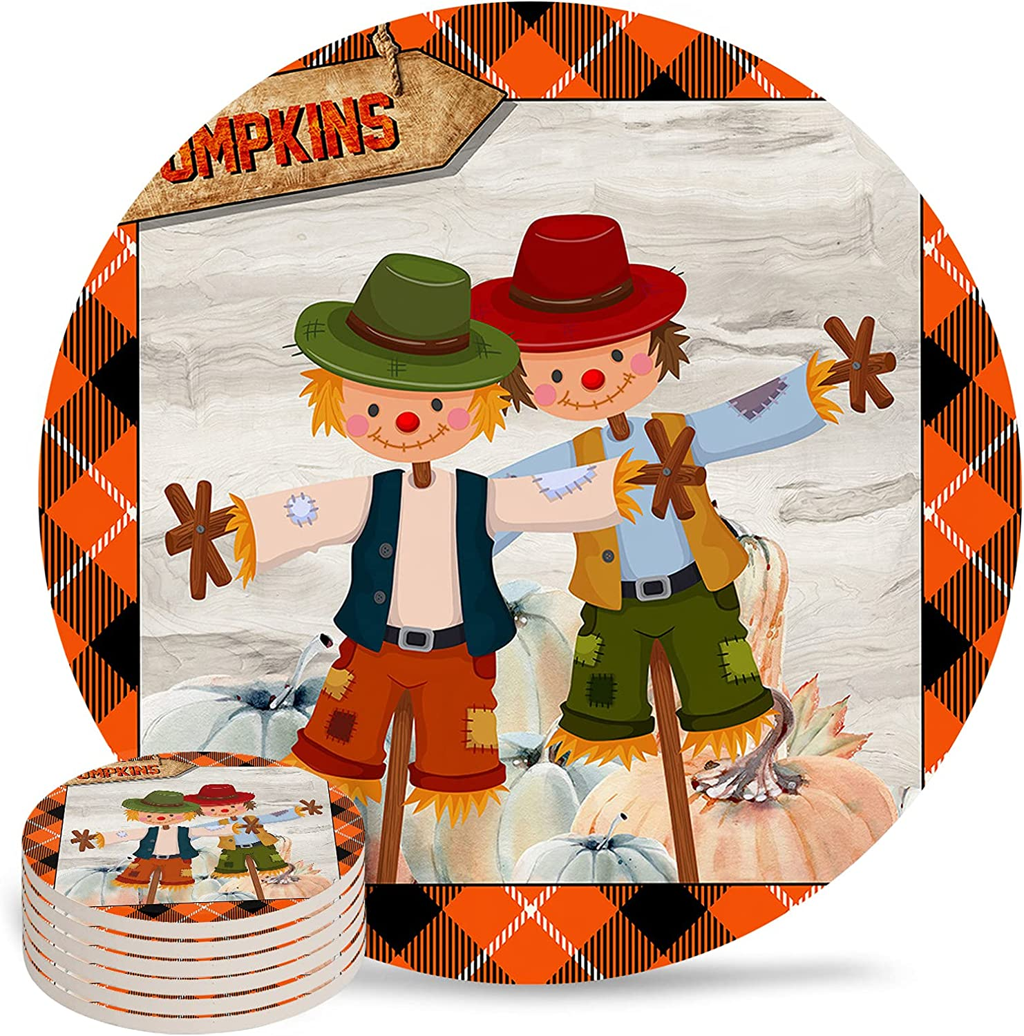 Autumn Thanksgiving Coasters shopping for Absorbent Ceramic Stone Drink 35% OFF