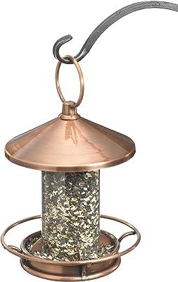 Good Directions 0112VB Classic Perch Bird Feeder Birdfeeder, Copper Finish