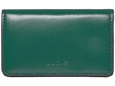 Lodis Accessories Audrey RFID Mini Card Case (Ivy/Deep Plum) Credit card Wallet