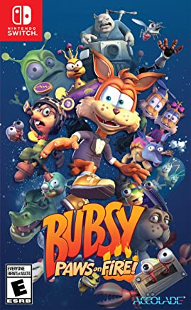 Bubsy: Paws On Fire! - Nintendo Switch Standard Edition