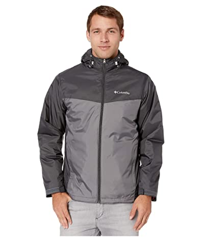 Columbia Glennakertm Sherpa Lined Jacket (Shark/City Grey) Men